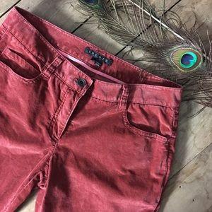 Theory velvet jeans